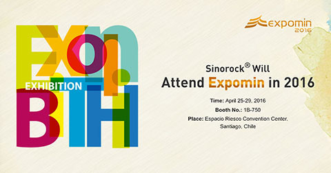 Sinorock® Will Attend Expomin and Bauma in 2016