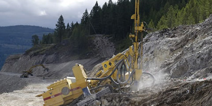 Self Drilling Anchor System for Sandy Gravel Layer in the Slope